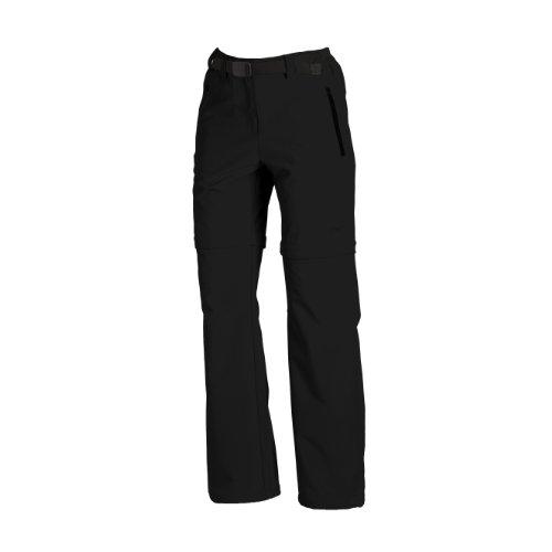 CMP Pantalon Femmes Zip Off XL Noir