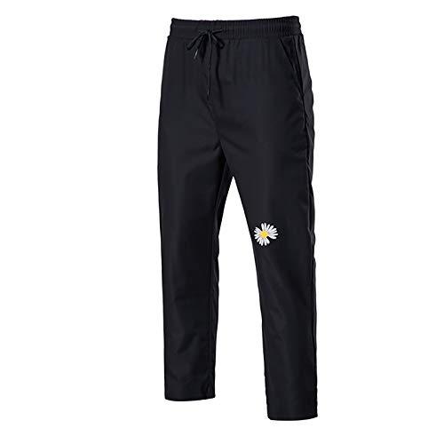 Herren Cargo Hose Basic Jogginghose mit Taschen Straight Man Pants Bequeme Regular Fit Stoffhose, Leicht Sweathose Sporthose Stretch Baumwolle Trainingshose Männer für Running Jogging