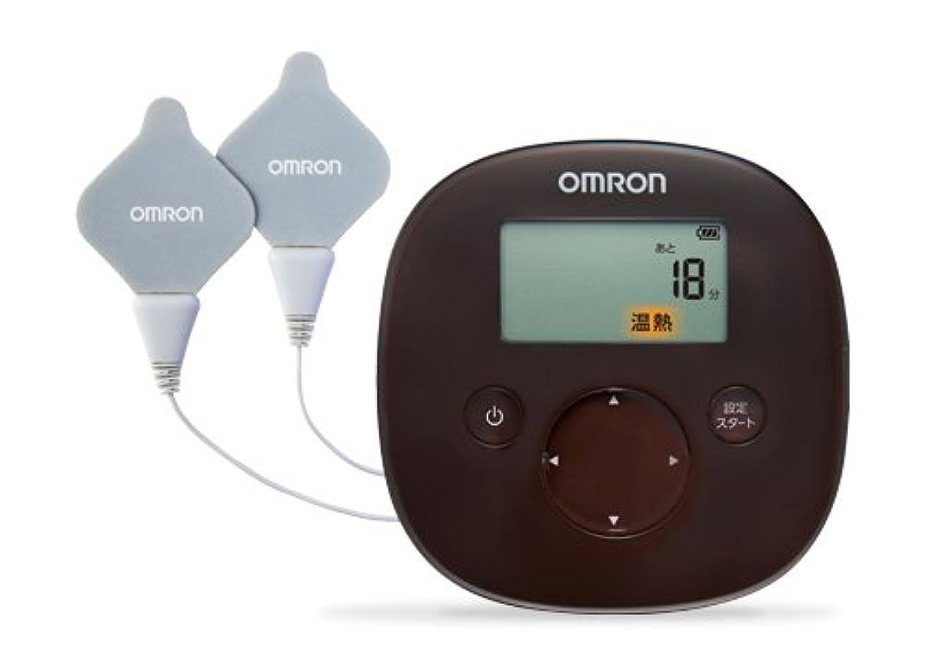 探偵控えめなオークランドオムロン 低周波治療器 温熱パッド HV-F320-BW