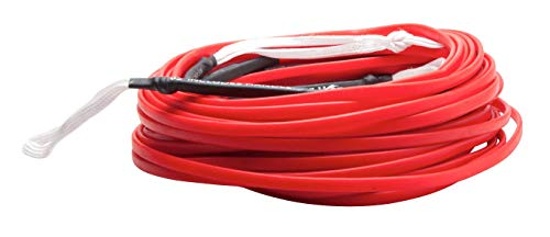 Hyperlite 80' Silicone Red Flat Line