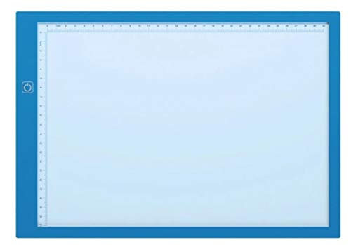 Mesa De Luz Azul Premium Para Desenho Transposição Led A4