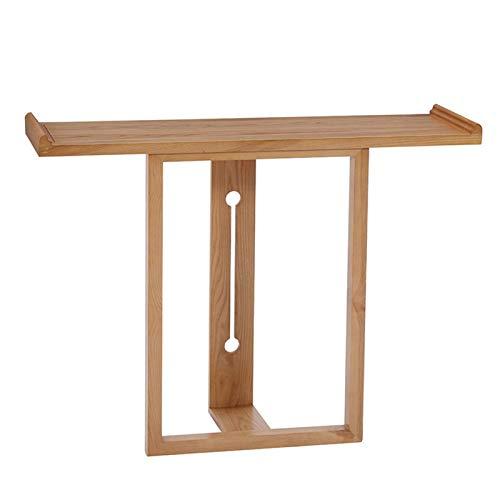 Mesa de consola de madera antigua, mesa de porche de entrada, nueva mesa auxiliar de estilo chino con partición larga contra la pared, escritorio de decoración de sofá de pasillo, utilizado para sala