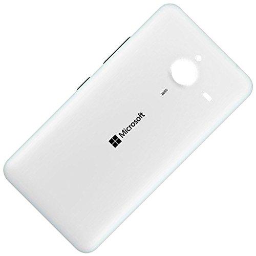 Microsoft Lumia 640 XL LTE Copri Batteria Originale, Bianco Opaco