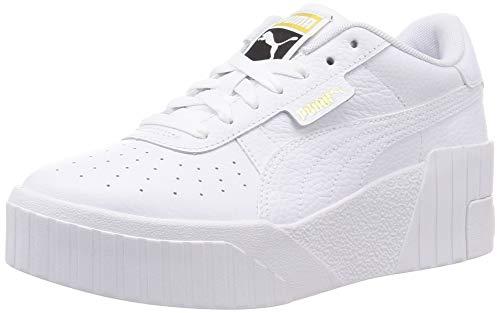 Puma Damen CALI Wedge WN S Sneaker, White White, 41 EU