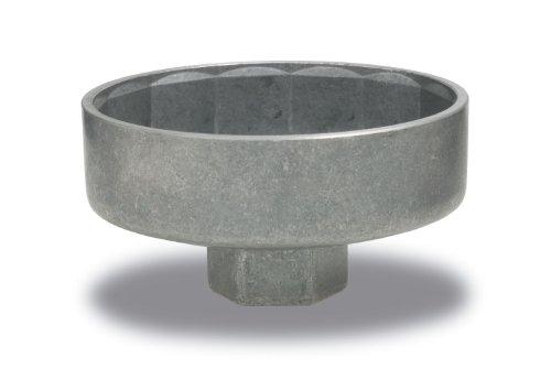 Hazet 2169-10 Chiavi Per Filtro Olio, Argento, Attacco Quadro, Cavo, 10 mm 3/8 di Pollice