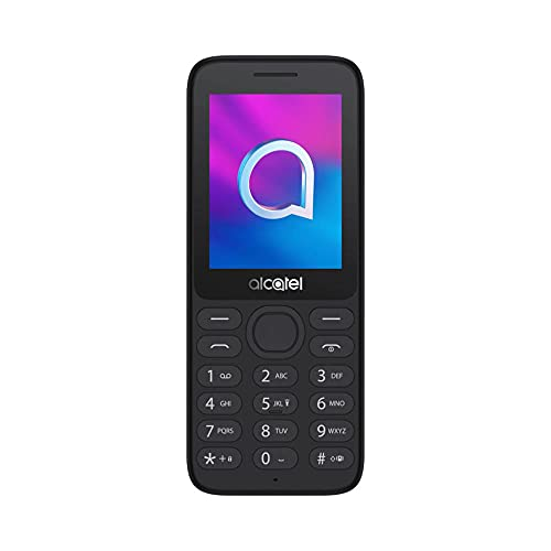 ALCATEL 3080G UK SIM-Freies Smartphone – Schwarz