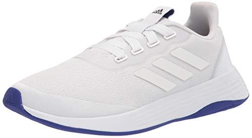 adidas womens QT Racer Sport White/White/Semi Night Flash 8.5