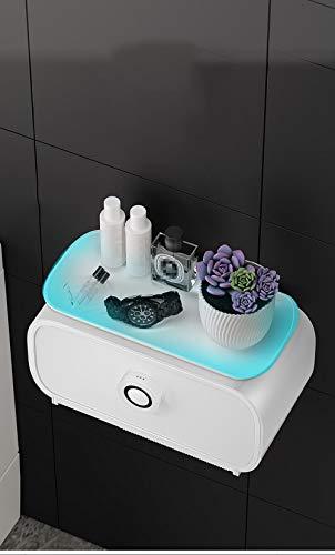 Hygienekarton Hygienische Papierhandtücher Kastentoiletten Regale Papierschubladen Rollenpapierkisten Kastenfreier Locher Wasserdichte Aromatherapie Toilettenpapierkiste