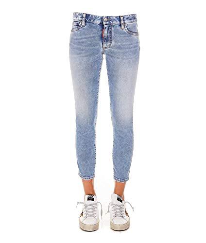 Luxury Fashion | Dsquared2 Dames S75LB0301S30595470 Blauw Katoen Jeans | Lente-zomer 20