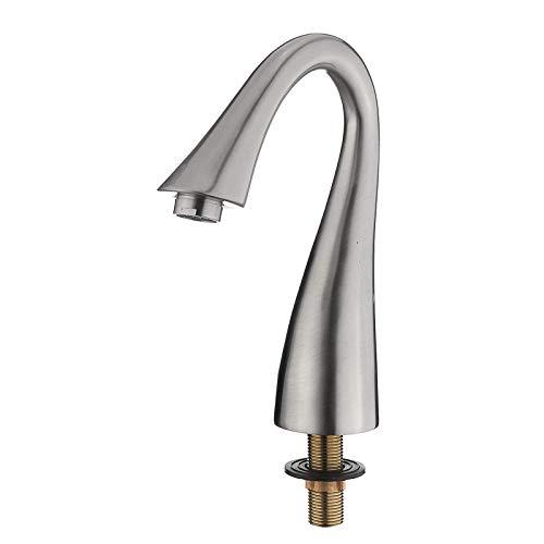 Grifos de baño generalizados grifo del fregadero 3 agujeros mezclador sola manija grifo de la cocina grifo