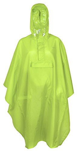 FAST RIDER FastRider Basic Poncho Unisex-Adult, Vert Lime, Taille Unique