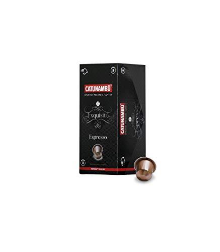 Catunambú Espresso - Cápsulas Compatibles con Máquinas Ne