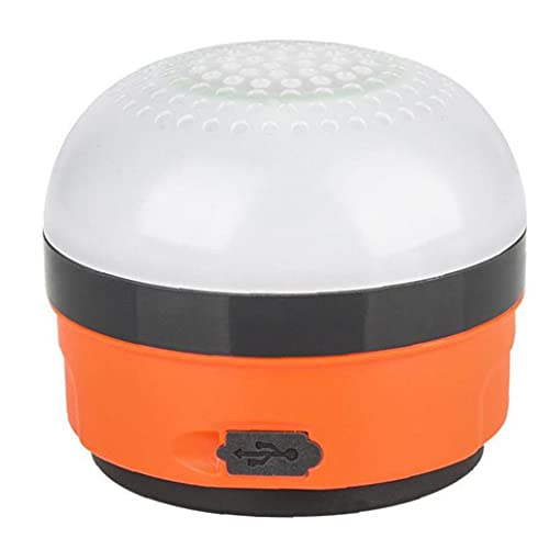 NIDONE Altavoz Camping Luz LED USB Recargable 5W Emergencia Power Bank Tienda lámpara Colgante