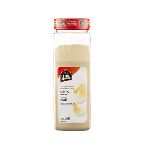 Club House, Quality Natural Herbs & Spices, Garlic Powder, 525g