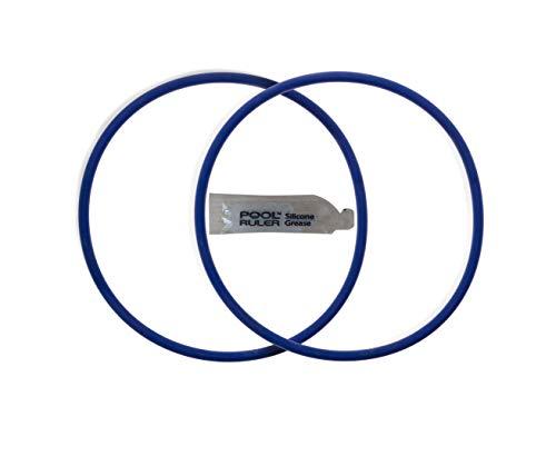 Pool Ruler Piscina Regla CLX200K Resistente al Cloro Viton O-Ring Dos Unidades + Lubricante para Hayward Piscina clorinador química Feeder Tapa CL200& CL220