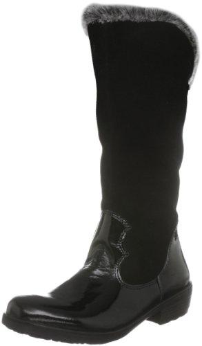 Ricosta Chloe, Boots fille - Noir-V.34, 25 EU (7.5 Child UK)