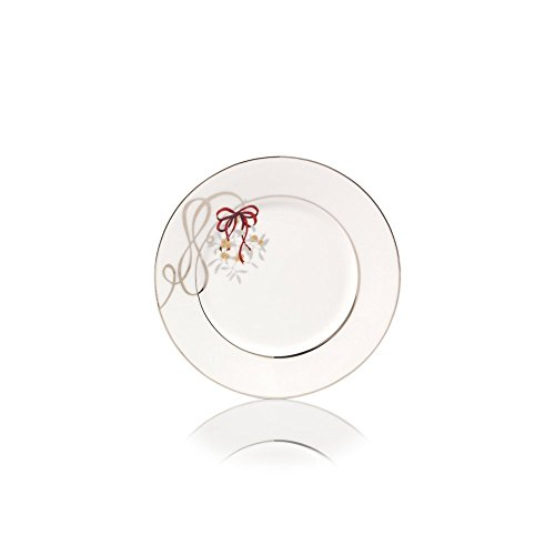 Mikasa Love Story Holiday Accent Plate, 8.5-Inch