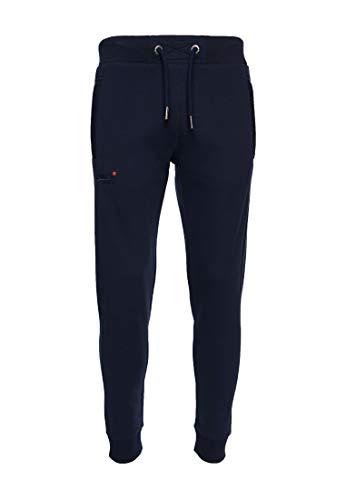 Superdry Herren Klassische Jogginghose aus der Orange Label Kollektion Leuchtendes Marineblau 4XL