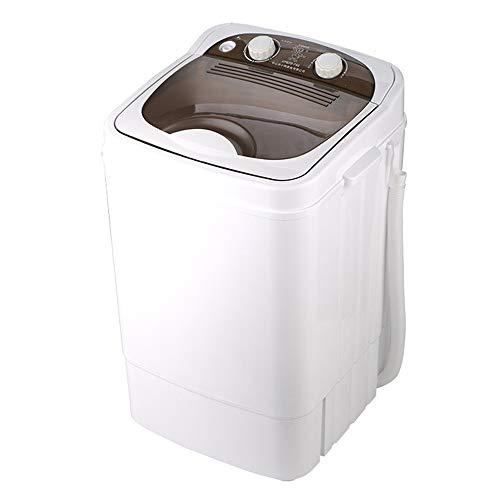 Machine à laver Mini Semi-Automatique De Ménage Monocylindre, Capacité De Lavage du Séchoir Portable 7KG avec Seau D'égouttage