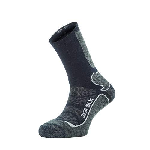 Enforma Socks Enforma Trekking Socks Slk-3k7 Chaussettes, Grau, Blau, 45-47 Mixte