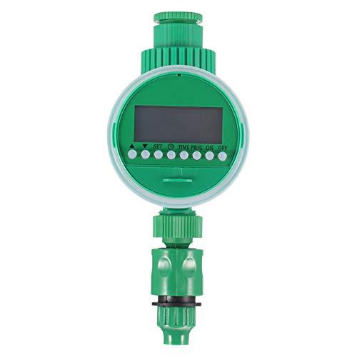 TenYua Temporizador de agua electrónico automático Controlador de riego de jardín Válvula...