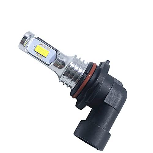 FLAMEER Kit de bombillas de luz antiniebla para faros delanteros 80W H10 3570 Compatible con vehículos, camiones, motocicletas, accesorios, reemplazo de - azul 9005