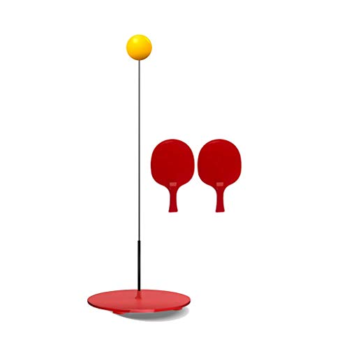 Why Should You Buy QSJY Table Tennis Trainer Set Elastic Soft Shaft Home Indoor Table Tennis Self ...