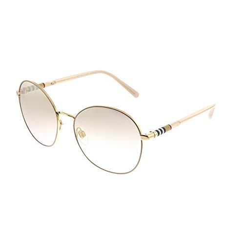 Burberry 0Be3094 12587I 56 Gafas de sol, Dorado (Gold/Brown), Mujer