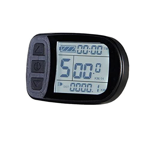meilen:weit  Display KT-LCD5, Professional, Bordcomputer, Tachoanzeige, LCD-Display, Beleuchtet, Multifunktional, E-Bike, Elektro Fahrrad, 24V/36V/48V