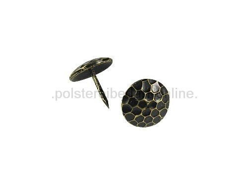 polstereibedarf-online Hammerschlagnägel Bronce Renaissance 250 Stück 1505 M 15 mm