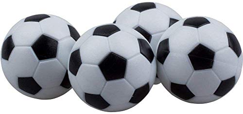 Zhejia 4 Pack Soccer Table Mini Ball Football Foosball...