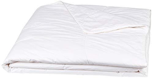Künsemüller Cashmere-Sommerdecke Decke, Baumwolle, weiß, 200x210