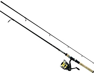"""Daiwa DSK25-B/F662M D-Shock Freshwater Spinning Combo, 2500, 6'6"""" 2Piece Rod, 6-14 lb Line Rate, 1/4-3/4 oz Lure Rate"""