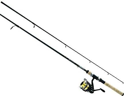 Daiwa DSK20-B/F602ML D-Shock de agua dulce Spinning Combo, 1 Cojinete, 6' de longitud, 2Piece Rod, Media/Luz de Potencia, Acción Rápida, Ambidextro