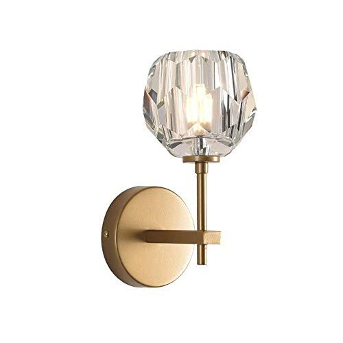Mkjbd wandlamp, wandlamp, modern, minimaal, wandlamp, villa, creatief, artistiek Medium Goud