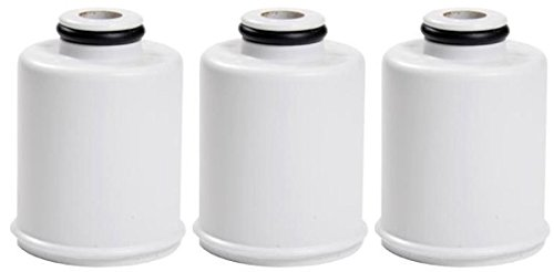 GE FXSCH Shower Water Filtration Replacement Filter (3 Pack)