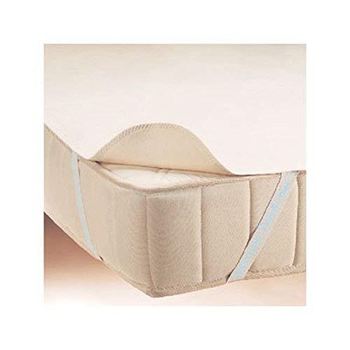 24-Bedding Protector de colchón impermeable Y transpirable- sabana del cama de franela - Incontinencia Cuidado - 180 x 200 cm - 180 x 200 cm
