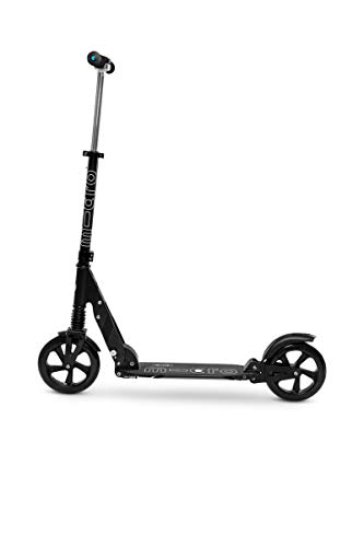Micro Scooter Suspension Scooter mit Federung Variante schwarz