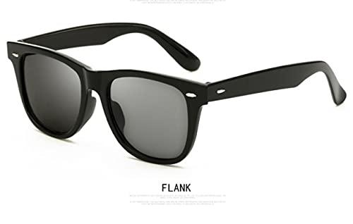 XIAODAN Half Metal Fashion Sunglasses Men/Women Retro Rivet Lens Classic Sun Glasses Uv400 C1