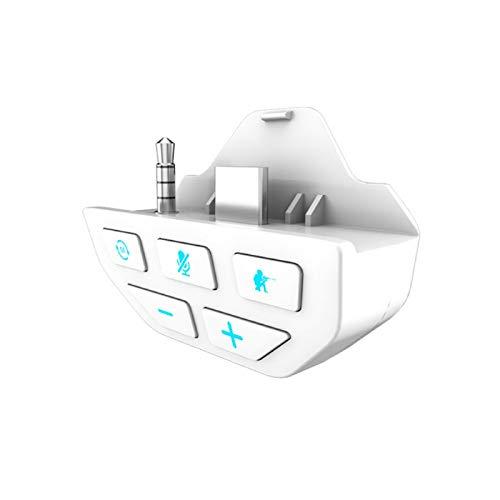 Controller Sound Enhancer para Xbox One, Adaptador de Audio de Auriculares estéreo para Xbox One X/S Controller