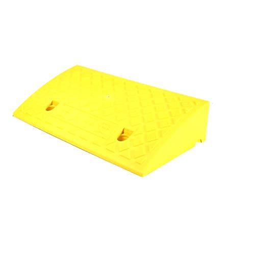 Niet-Motor Voertuig Kunststof Rampen, voor Ouderen/Kinderen Rolstoel Ramps Traptreden Uphill Ramps Light Ramps 50*27*9cm Geel