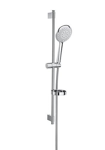 Roca Sensum - Kit de ducha. incluye ducha de mano de 130 mm de 4 funciones, barra de 800 mm, soporte regulable . Duchas y rociadores. Ref A5B1407C00