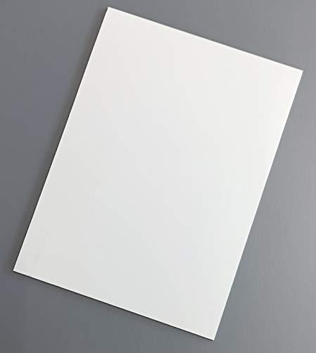 Placa de Aluminio Blanco Composite de 3 mm Chapa de Dibond (1 UD, A3-29,7x42 cm)