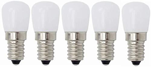 LHY- Glühbirne, LED E14 Kleine Edison Screw Appliance-Birne, 3W (entspricht 20W), for Kühlschrank Kühlschrank, Nähmaschine, Dunstabzug Beleuchtung 220V Klein (Color : Cool Whtie)