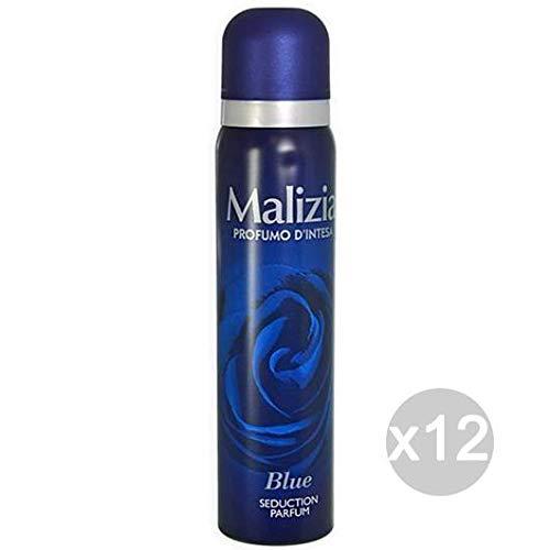 Lot 12 Malicieuse Déodorant Spray 100 blue Seduction Soin et hygiène du corps