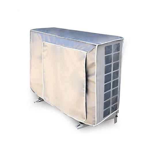 BANGSUN 1 cubierta de aire acondicionado para ventana de patio, protección al aire libre, unidad principal central, color negro