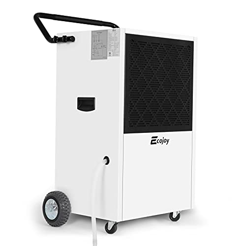 232 PPD Commercial Dehumidifiers for Basements with Drain Hose, Large Industrial Dehumidifier for Warehouse Grow Room Water Damage Restoration Moisture Removal up to 8000 SQ FT, Washable Filter