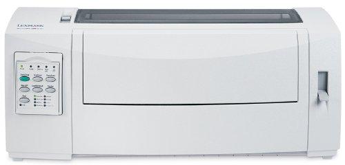 Lexmark 2590n+ - Impresora matricial (24 Agujas, 360 x 360dpi, USB/Fast Ethernet), Color Blanco