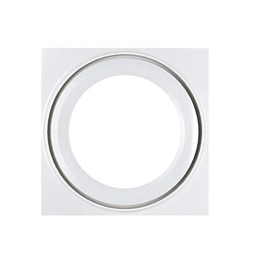 LANDUA Haushalt Ventilation Ventilator, Badezimmer Abzugshaube, Decken Fenster und Wand-Fans mit Built-in LED-Leuchten und LED-Treiber