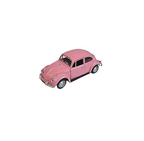 Gwill - Perfume de aleación para Coche, diseño de Escarabajo, Color Rosa